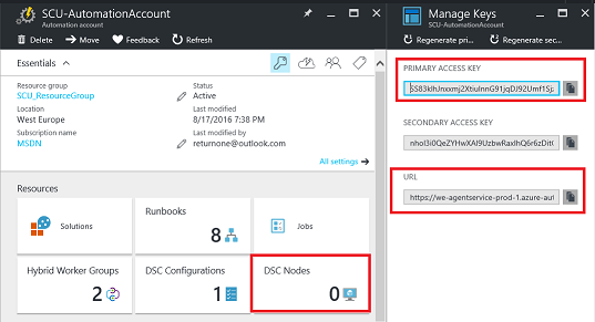 Part 3 – Use Azure Automation DSC to Configure Linux and execute