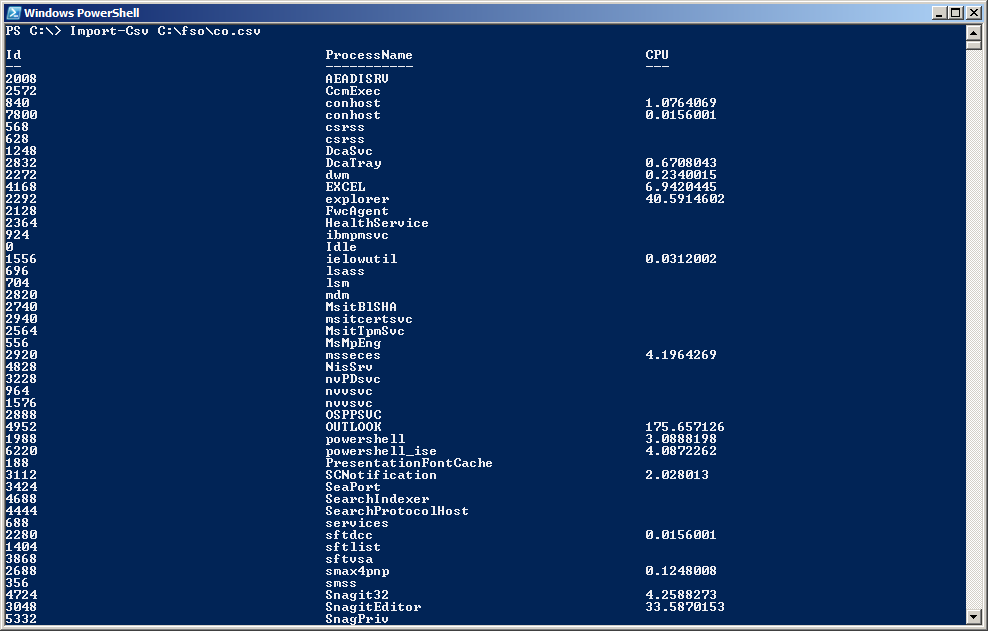 Easily Remove Columns from a CSV File by Using PowerShell