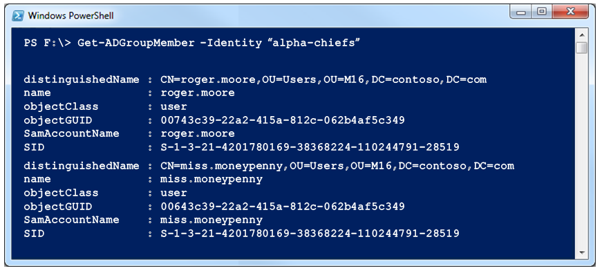 Recursively Search Active Directory Security Groups