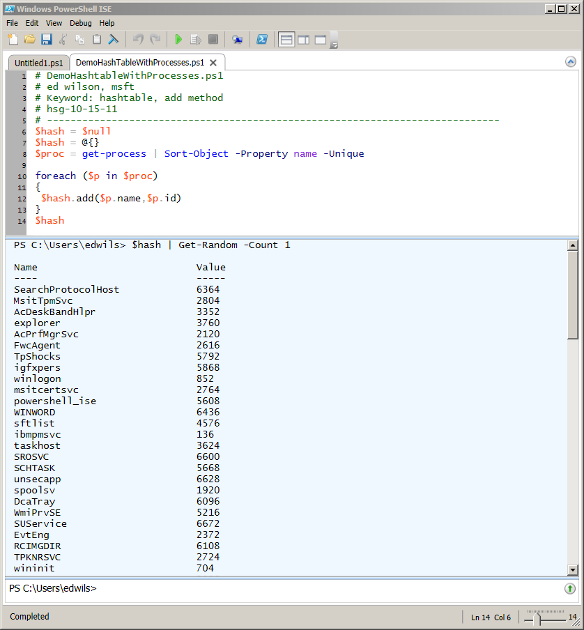 Dealing with PowerShell Hash Table Quirks | Scripting Blog