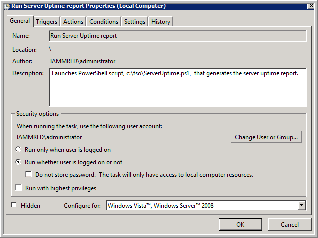 Weekend Scripter: Use the Windows Task Scheduler to Run a Windows
