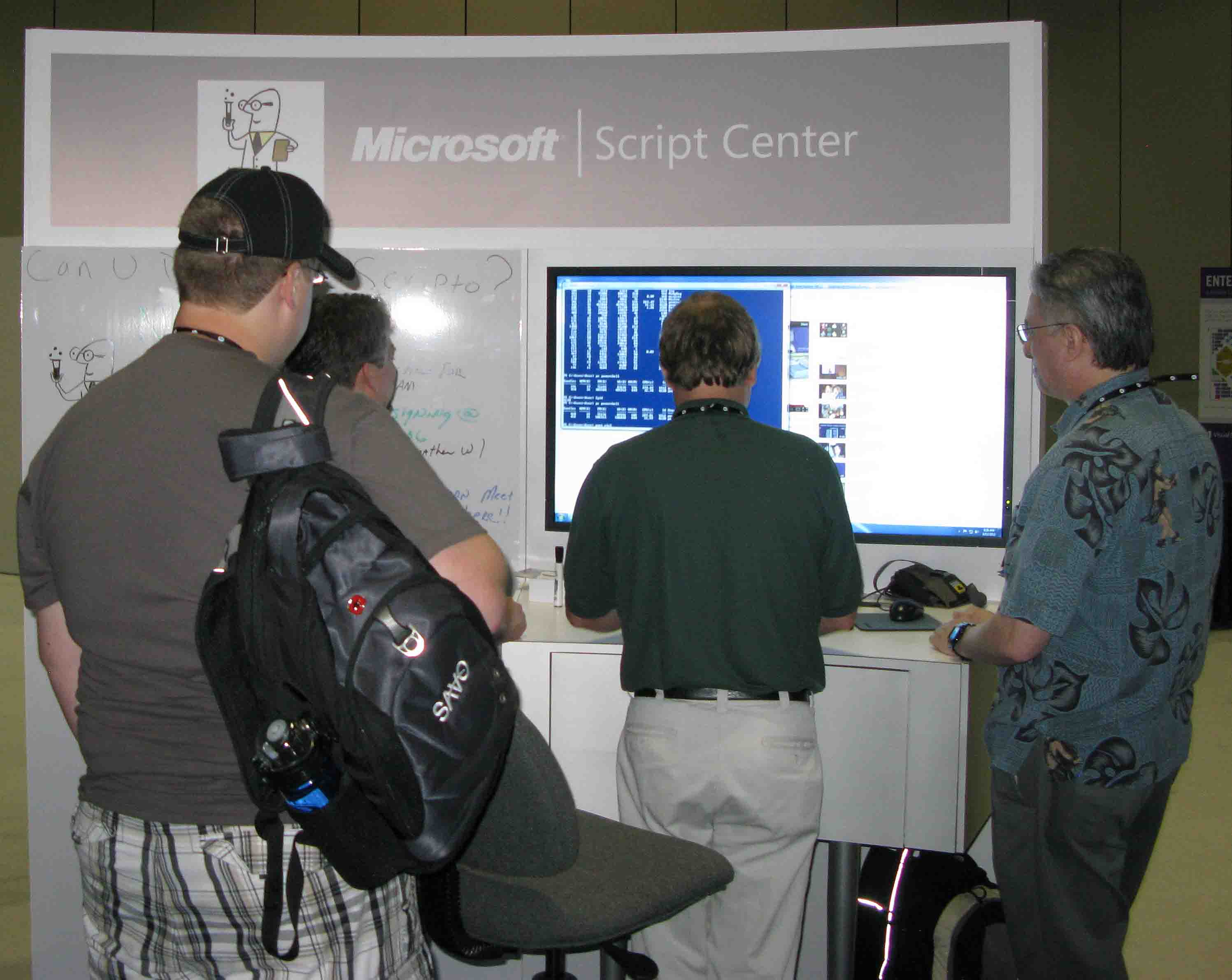 Photo at TechEd