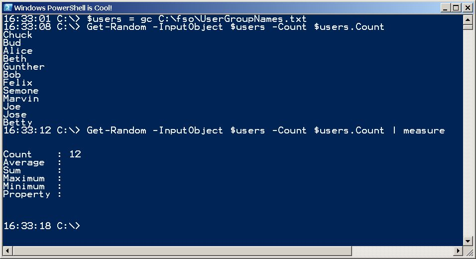 Use PowerShell to Pick Random Winning Users from Text