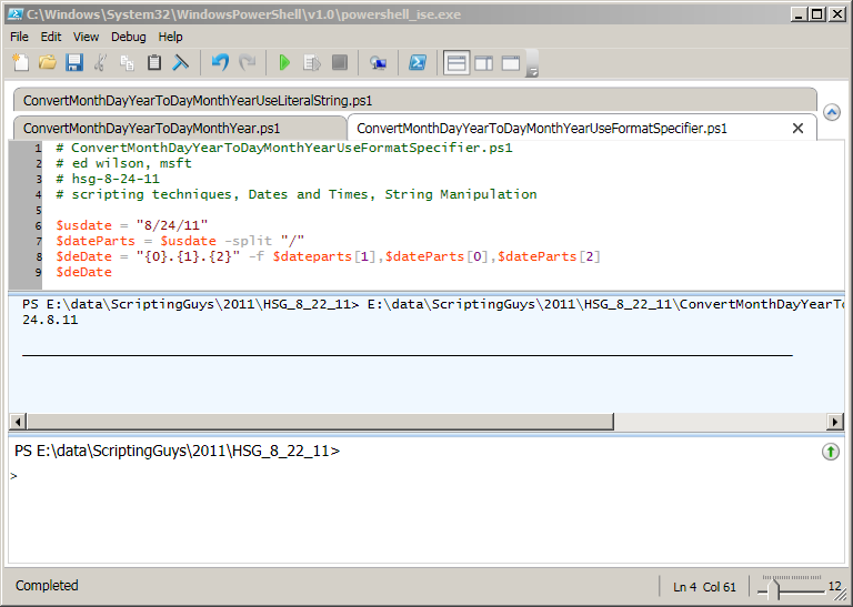 Use PowerShell to Convert Date Formats Easily | Scripting Blog