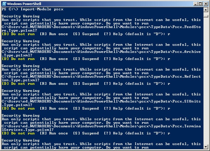 Scripting Wife Learns About Unblocking Files in PowerShell