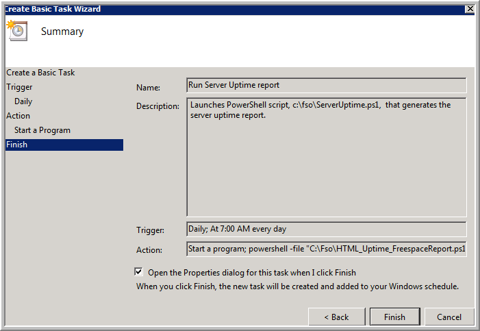 Weekend Scripter: Use the Windows Task Scheduler to Run a