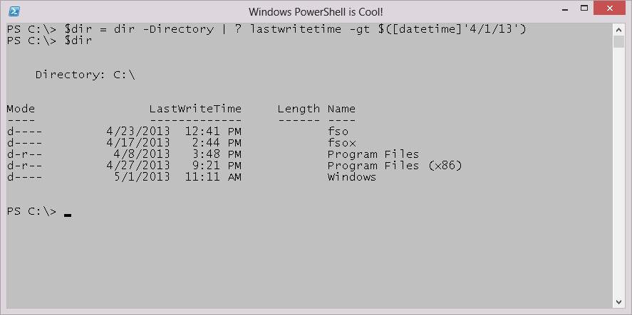 Weekend Scripter: Playing with PowerShell's Get-Variable