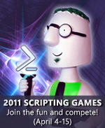 2011 Scripting Games badge