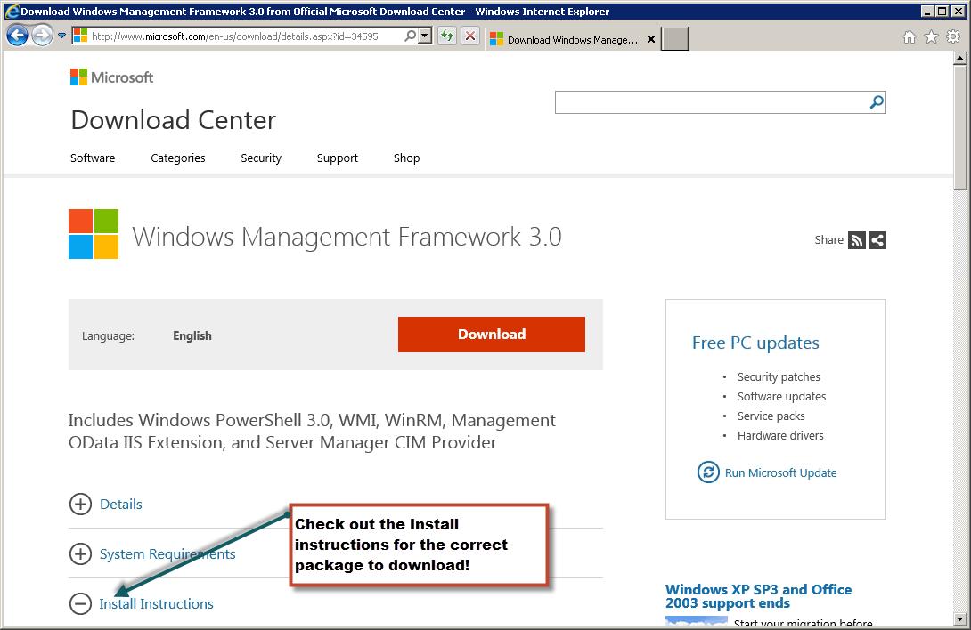 Weekend Scripter: Install PowerShell 3 0 on Windows 7