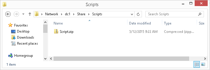 Use PowerShell to Archive a Folder and Copy to Server