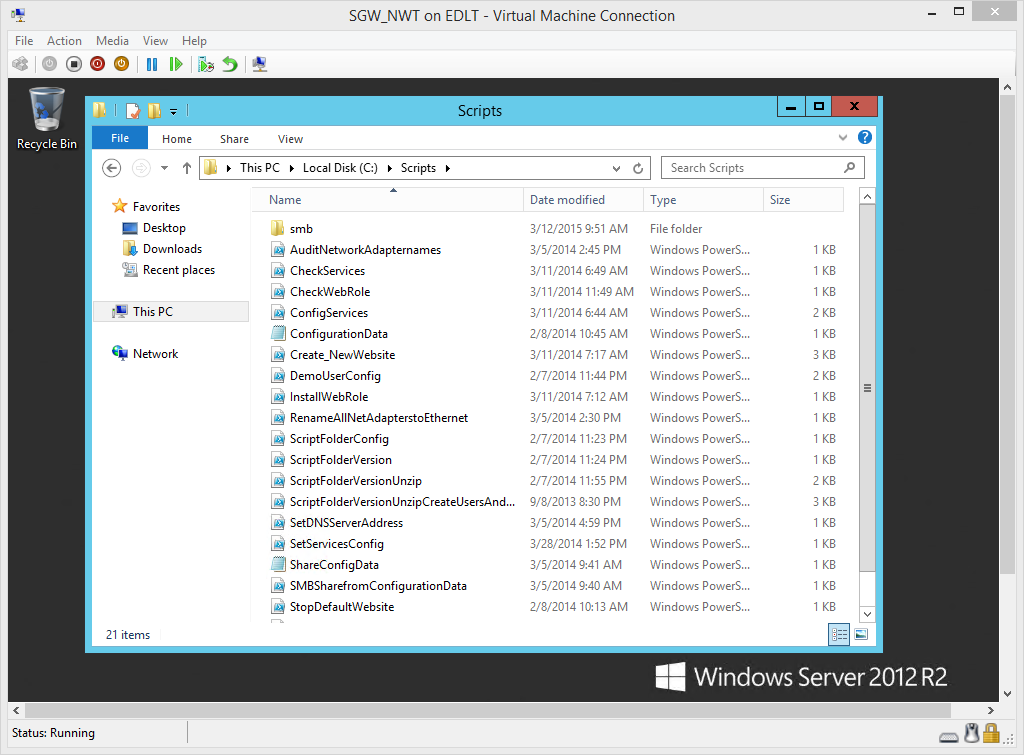 Use PowerShell to Archive a Folder and Copy to Server | Scripting Blog