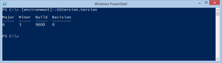 Use PowerShell to Find Operating System Version | Scripting Blog