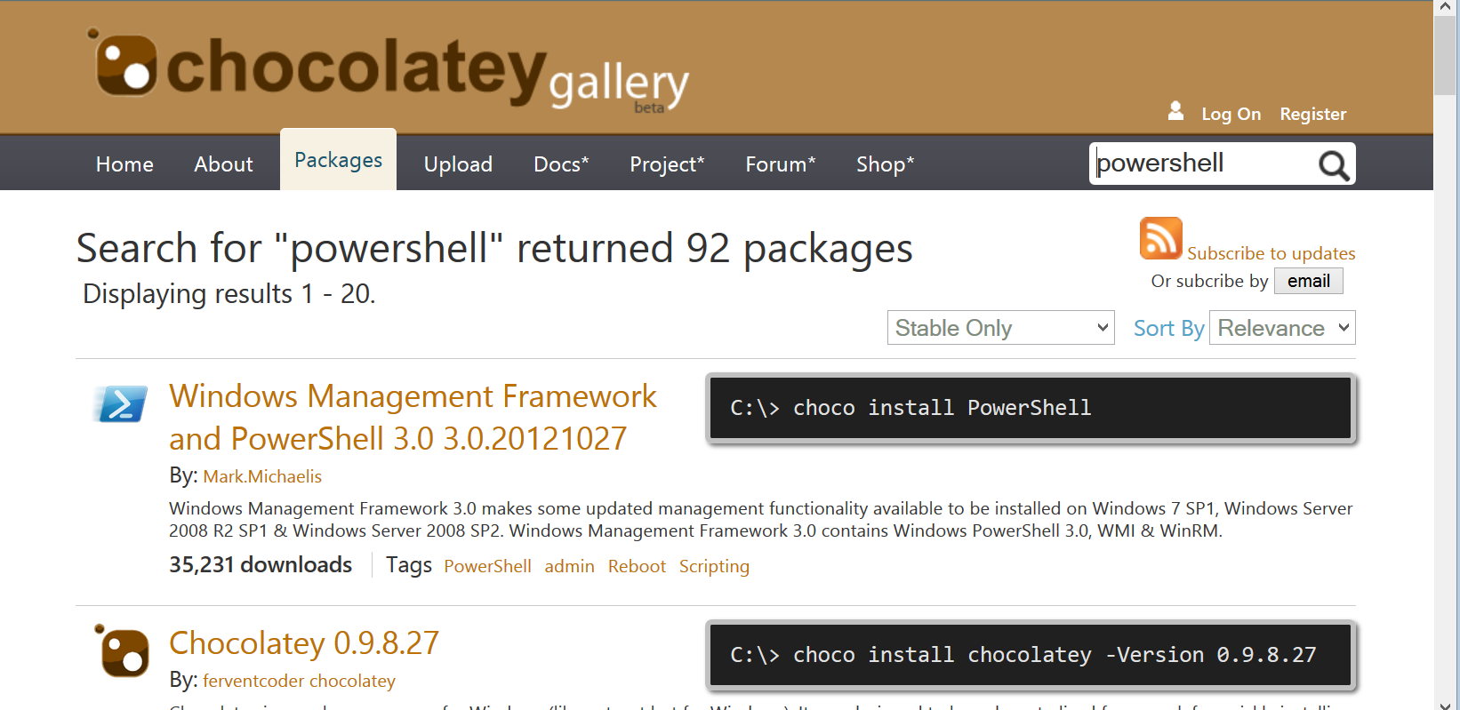 Weekend Scripter: PowerShell and Chocolatey | Scripting Blog