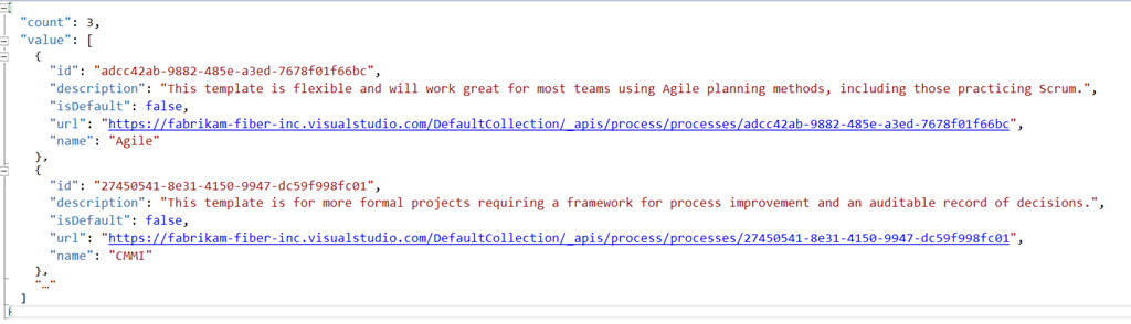 Using VSTS API with PowerShell to scaffold Team Projects