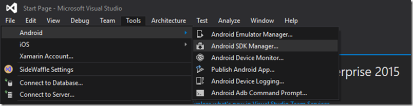 Using the correct version of Android SDK Build-Tools with Xamarin
