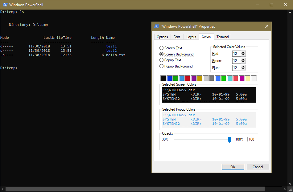 New Experimental Console Features | Windows Command Line