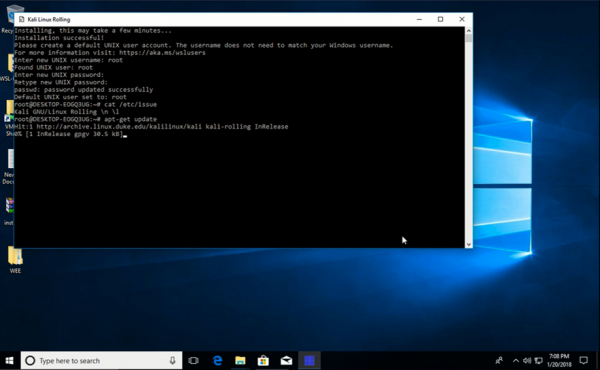 Kali Linux for WSL now available in the Windows Store | Windows