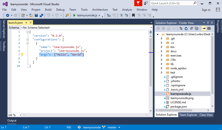 Open Any Folder with Visual Studio