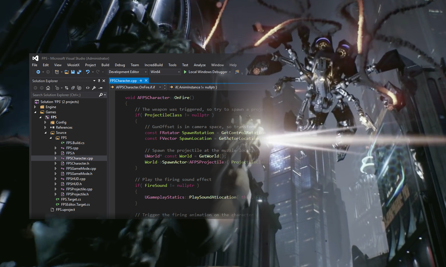 Installing the Unreal Engine in Visual Studio | The Visual Studio Blog