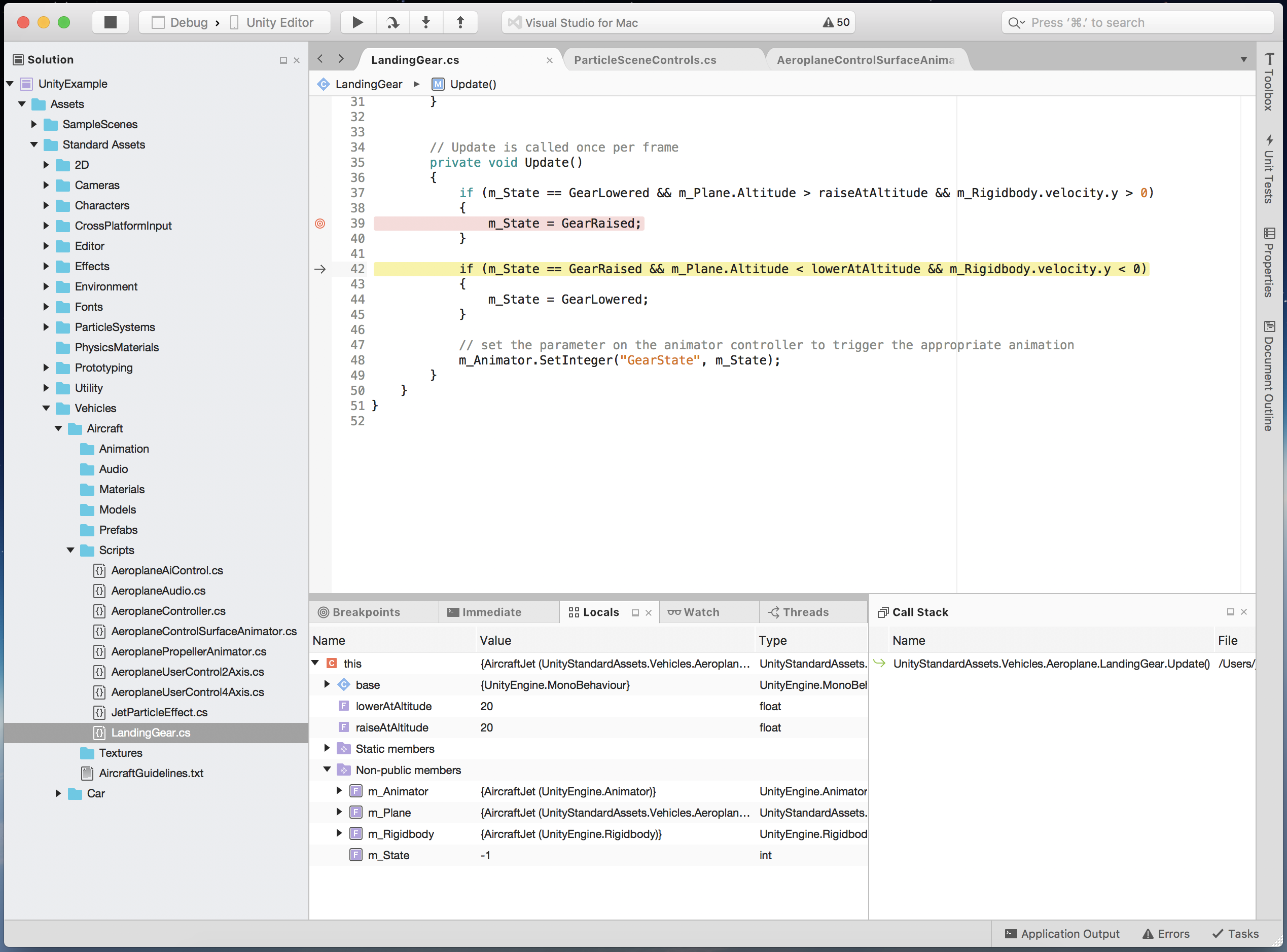 Unity game development with Visual Studio for Mac | The Visual