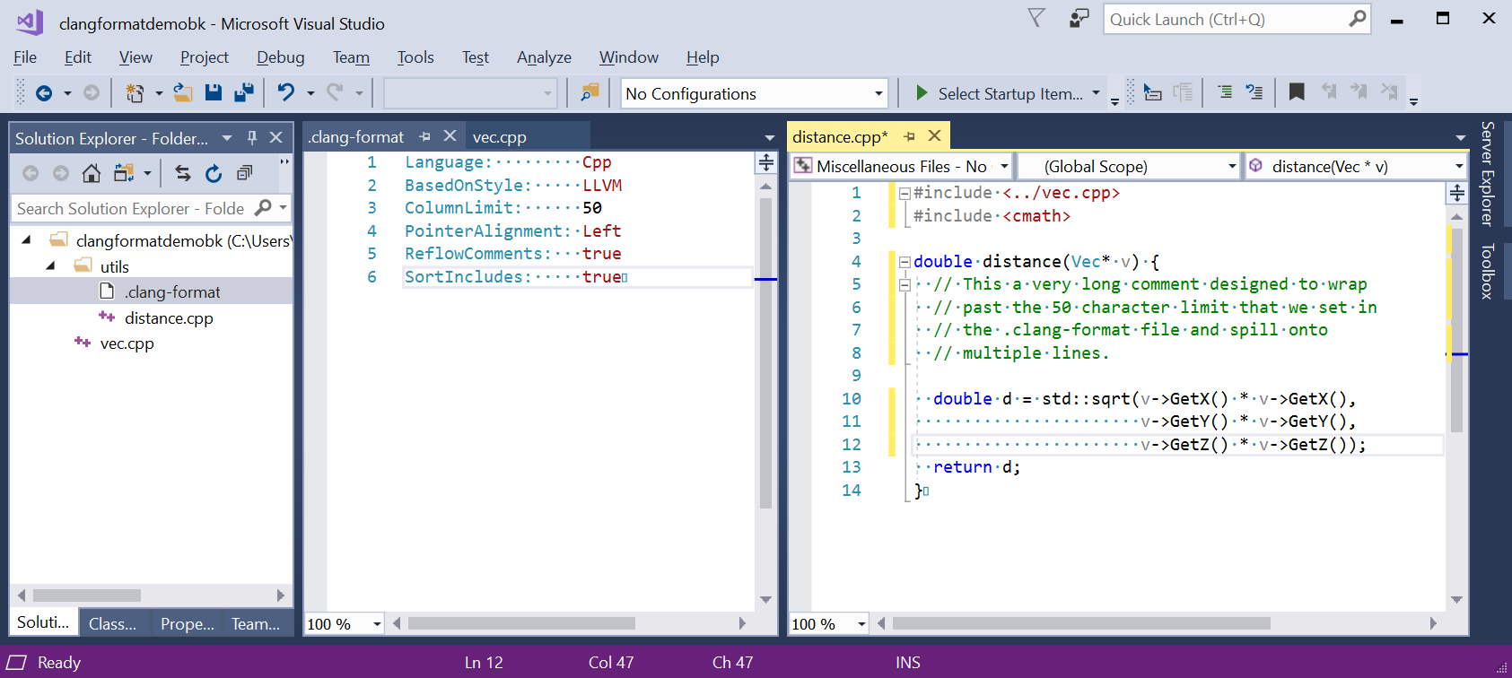 in the Visual Studio debugger YOUR way