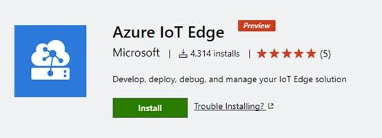 Azure IoT Edge Extension