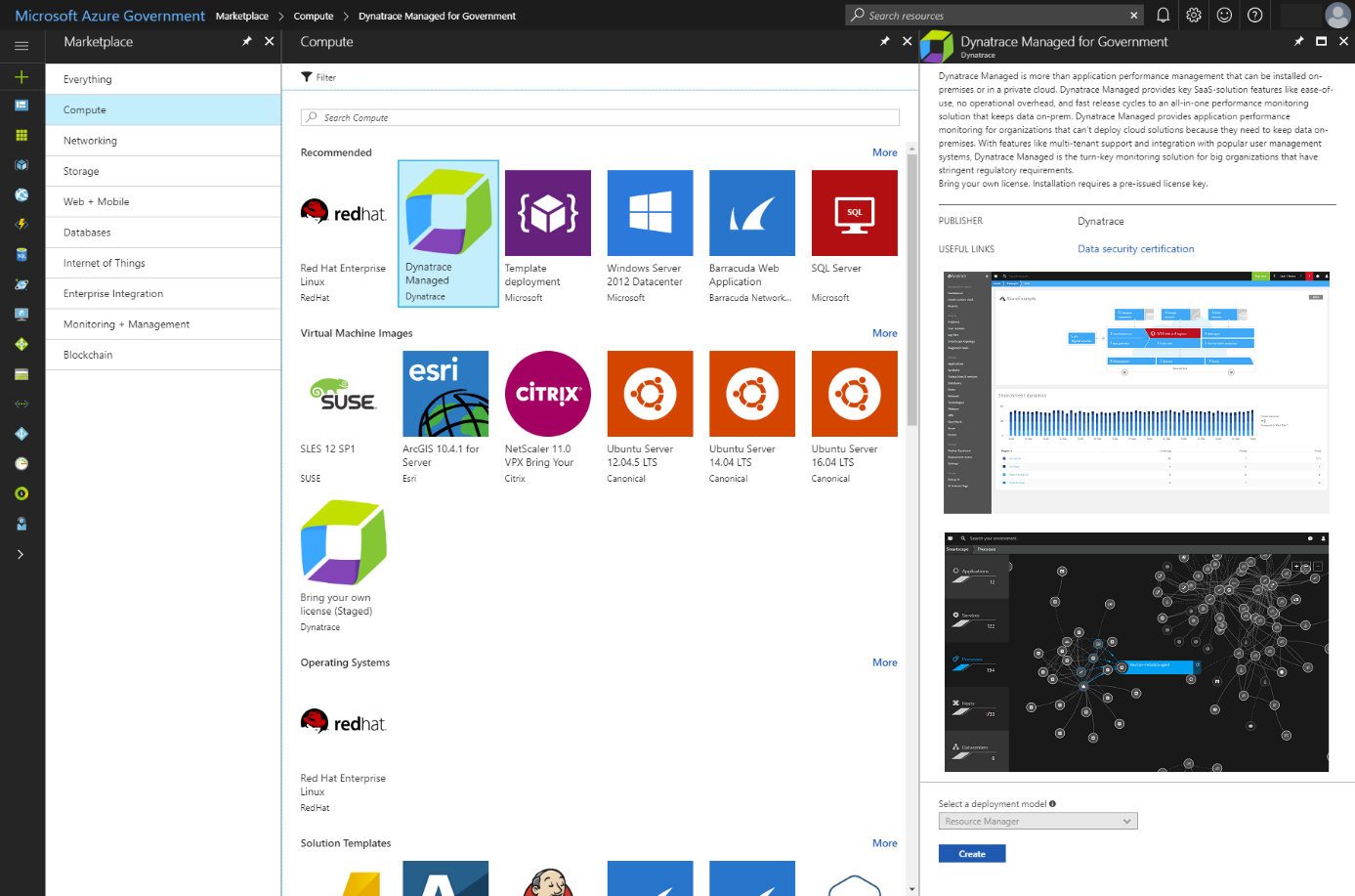 Dynatrace Managed Instance now available for Azure