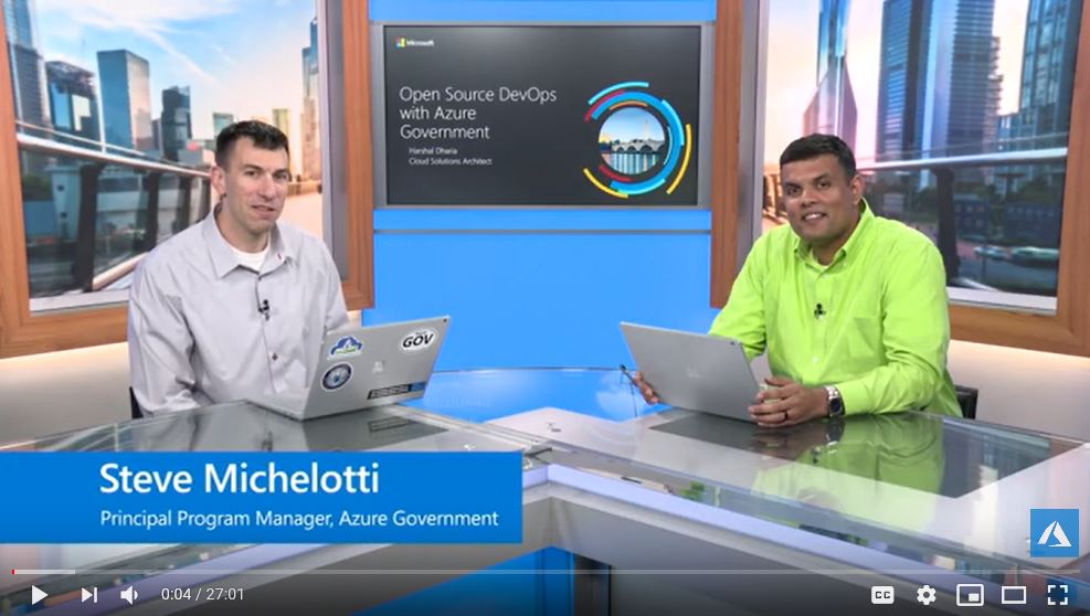 Open Source DevOps in Azure Government | Azure Government