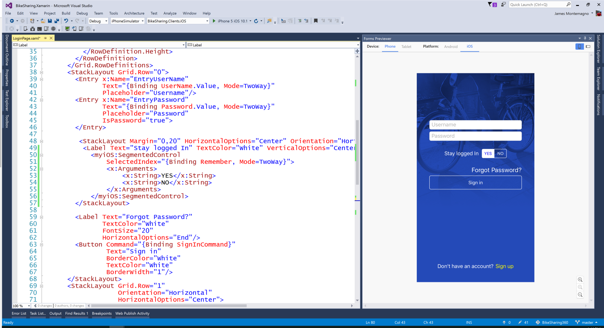 Live XAML Previewing with the Xamarin Forms Previewer
