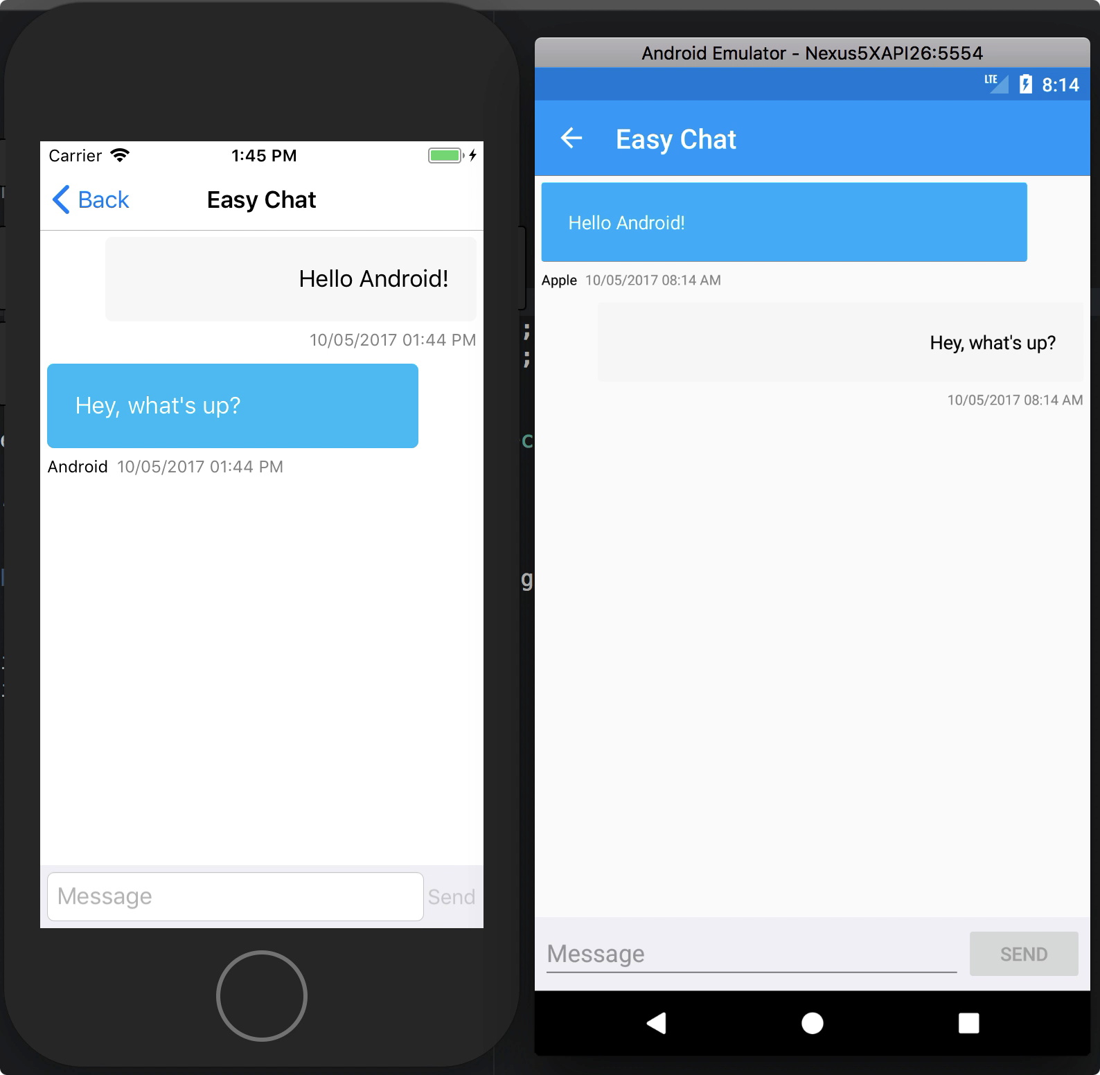 Developing Real-Time Communication Apps with WebSocket | Xamarin Blog