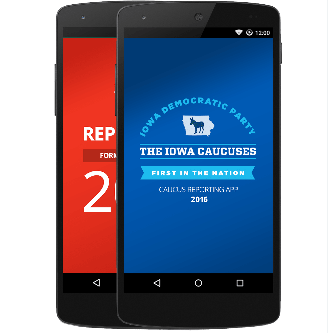 Iowa Caucus Apps