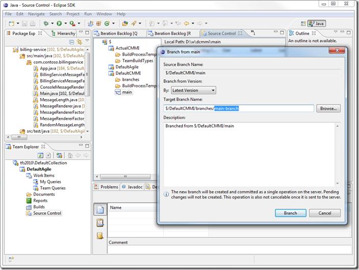 Microsoft Visual Studio Team Explorer 2010 codename