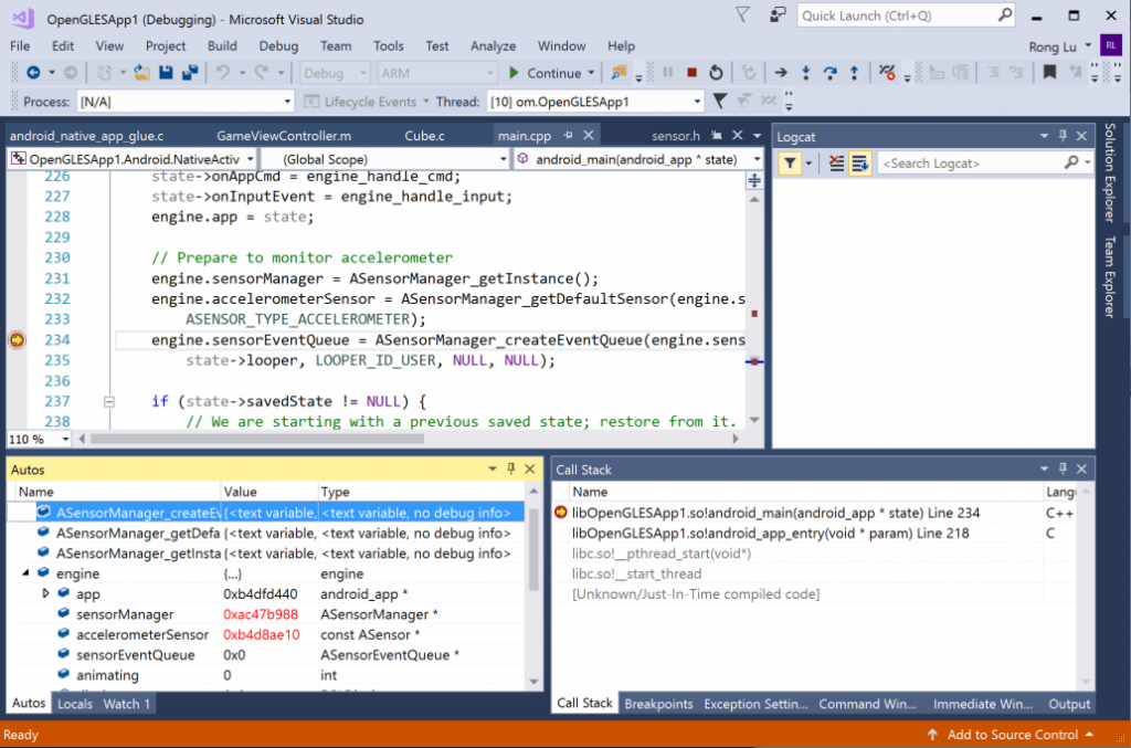 Android and iOS development with C++ in Visual Studio | C++ Team Blog