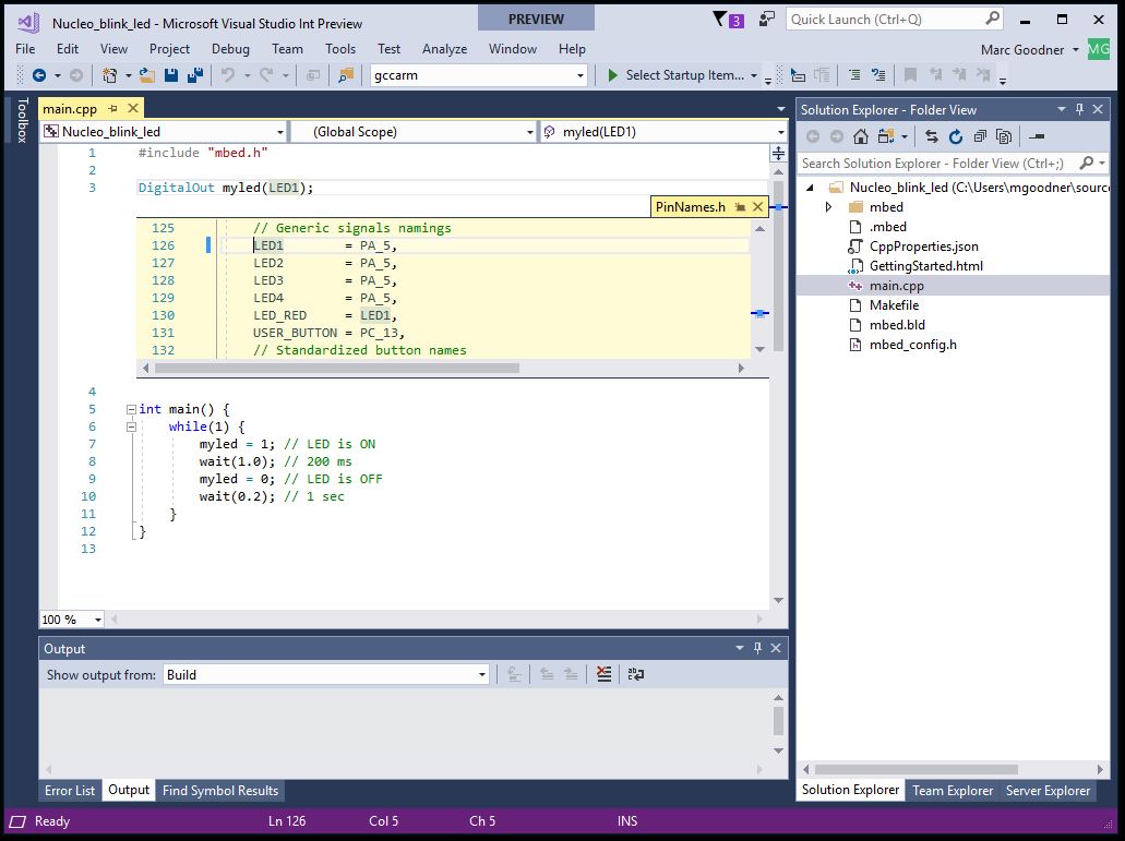 ARM GCC Cross Compilation in Visual Studio | C++ Team Blog