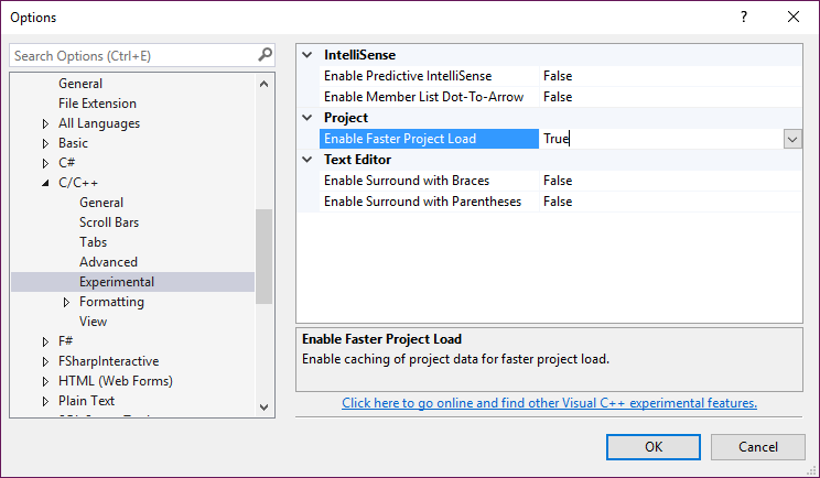 Faster C++ solution load with VS 2017 | C++ Team Blog