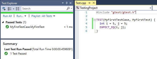 Unit Testing: Test Adapter for Google Test goes in-box! | C++ Team Blog