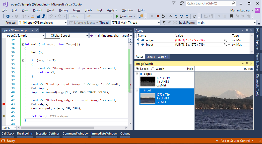 Image Watch is now available for Visual Studio 2017   C++