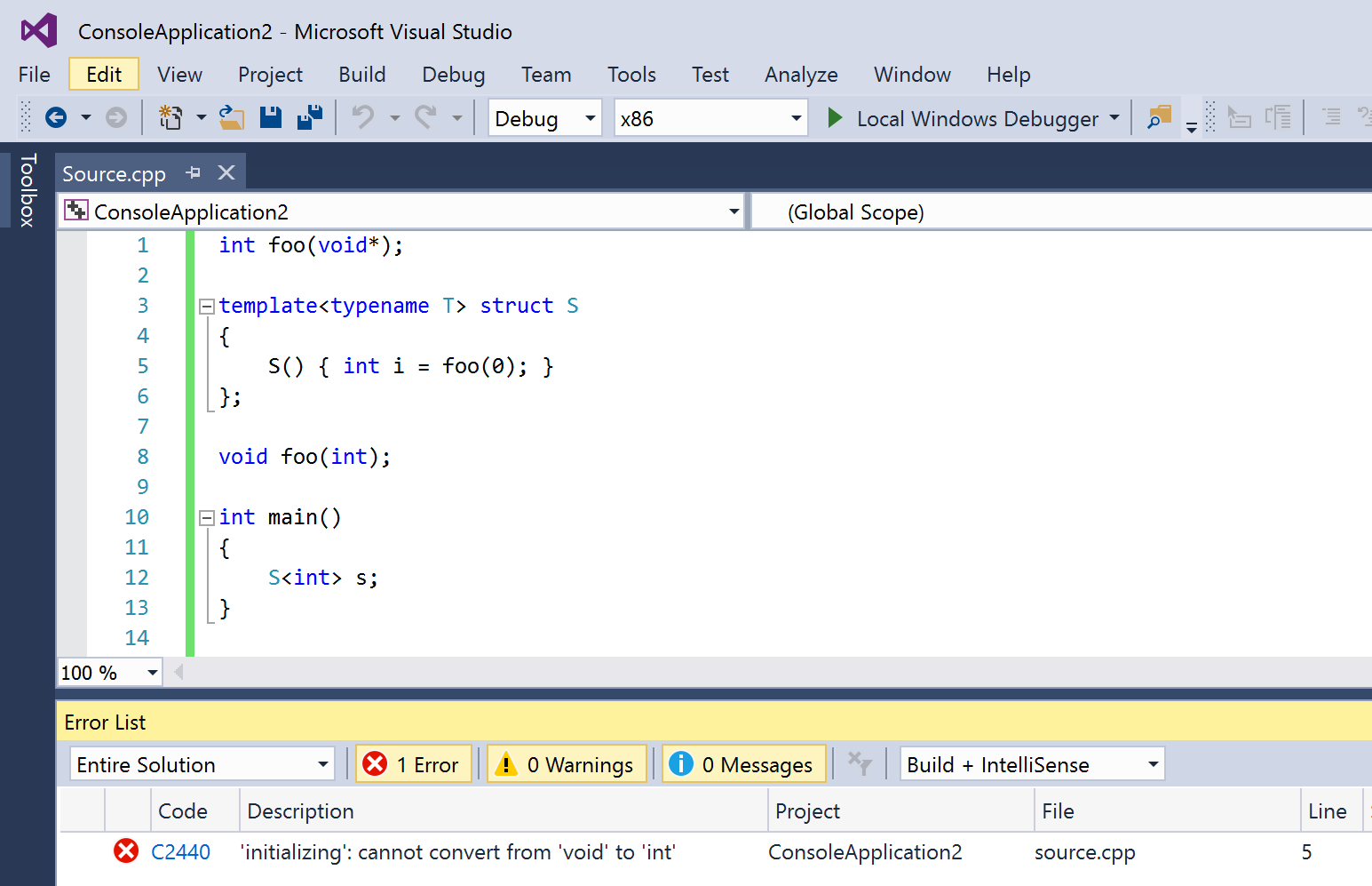 Give Visual C++ a Switch to Standard Conformance | C++ Team Blog