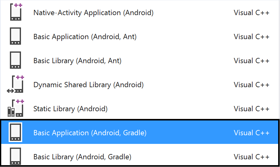 Build your Android applications in Visual Studio using