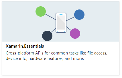 Xamarin.Essentials: Cross-Platform APIs for Mobile Apps