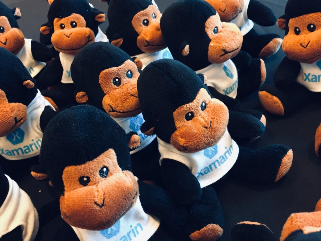 Xamarin Developer Summit Monkeys