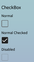 Checkbox for Tizen